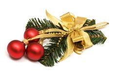 сферы орнамента рождества Стоковое фото RF