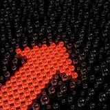 сферы предпосылки Стоковое фото RF
