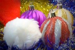 сферы рождества Стоковая Фотография