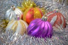 сферы рождества Стоковое фото RF