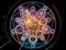 Сферы символического смысла Стоковое фото RF