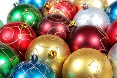 сферы украшений рождества Стоковая Фотография