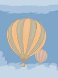 сферы 2 воздуха иллюстрация вектора