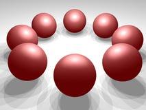сферы 3d Стоковые Фото