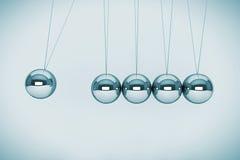 Сферы Newton Стоковая Фотография