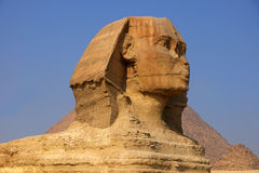 сфинкс Египета Стоковые Изображения RF