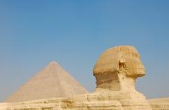 сфинкс Египета giza большой Стоковые Фотографии RF