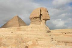 сфинкс Каира Египета Стоковое фото RF