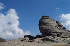 Сфинкс Bucegi, Румынии Стоковая Фотография