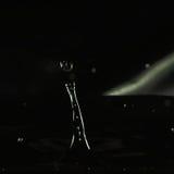 Сформированная жидкость капания, столбцу прилива Стоковое Фото