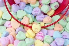 сформированное сердце конфеты Стоковые Фото