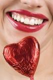 сформированное сердце конфеты стоковые фотографии rf
