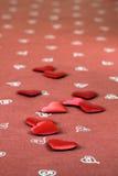 сформированное сердце confetti Стоковые Изображения RF