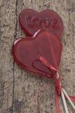 сформированное сердце конфет Стоковые Изображения RF
