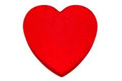 сформированное сердце коробки Стоковая Фотография