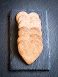 сформированное сердце gingerbread печений Стоковая Фотография RF