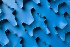 сформированные резцы печенья самолета Стоковые Фотографии RF