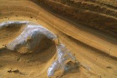 сформированный песчаник формирует волнистое Стоковые Фотографии RF