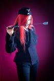 сформируйте воинскую женщину Стоковая Фотография RF