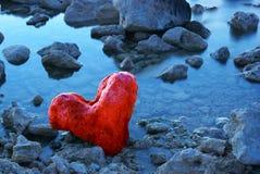 сформируйте камень сердца Стоковое Изображение RF