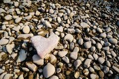 сформируйте камень сердца Схематическая конструкция Стоковые Изображения