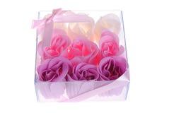 сформируйте мыло роз Стоковое Изображение RF