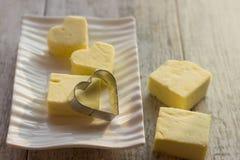 Сформируйте для печений в форме сердца Стоковые Фотографии RF