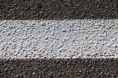 Сфотографированная дорога конца-вверх новая Стоковая Фотография