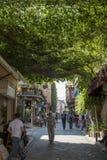 Сфотографированный на улицах Balat стоковые изображения rf