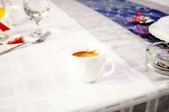 Сфотографируйте кофейные чашки Стоковые Изображения RF