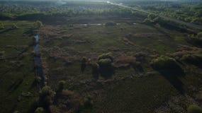 Сфотографируйте от лета Quadrooptera реки стоковые фото