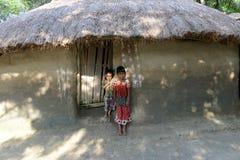 Схватка сельской Индии Стоковое фото RF