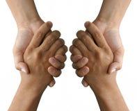 схватывать держать рук Стоковое Изображение RF