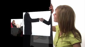 Схематическая анимация 6 дела сток-видео