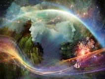 Схематическая мечта Стоковые Изображения