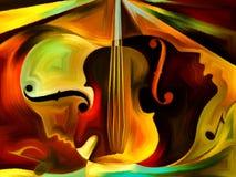 Схематическая музыка Стоковые Фотографии RF