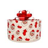 Схематическая подарочная коробка на год свиньи иллюстрация 3d бесплатная иллюстрация
