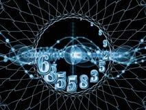 Схематические номера Стоковое Фото