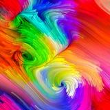 Схематический жидкостный цвет Стоковое Изображение RF
