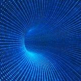 схематический футуристический тоннель Стоковое Изображение