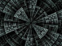 Схематическое вращение взрыва Стоковое Изображение