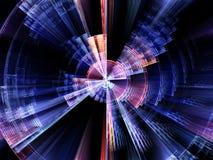 Схематическое вращение взрыва Стоковая Фотография RF