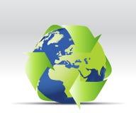 схематическое относящое к окружающей среде иллюстрация вектора