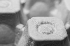 Схематическое фото контейнера для пакета яичек для сырцового яичка цыпленка абстрактная предпосылка еда Питание Стоковое фото RF