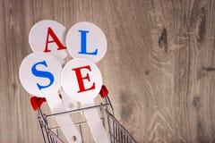Схематическое фото продаж рождества или покупок подарка Продажа слова стоковая фотография