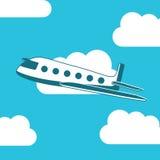 Схема самолета Стоковые Изображения RF