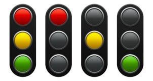 Схема светофора Стоковое фото RF