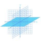 Схема физики, химии и священной геометрии Стоковая Фотография