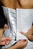 сход невесты стоковое изображение