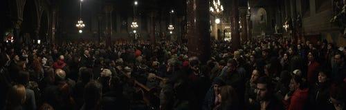 Сход церков Стоковая Фотография RF